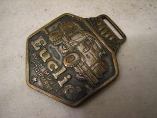 nice vintage watch fob for Euclid Earth Moving Equipment. In