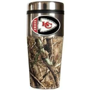 Kansas City Chiefs Realtree Camo Travel Coffee Mug Sports
