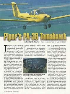 Piper Tomahawk Aircraft report 1/11/12a