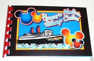 Personalized DISNEY CRUISE LINE Autograph Book CHOICE