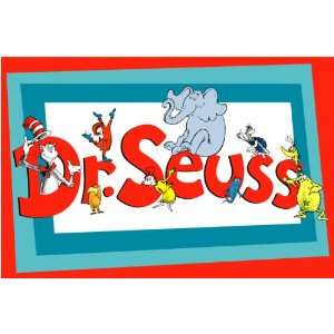 Dr. Seuss wall sticker removable peel and stick cute art