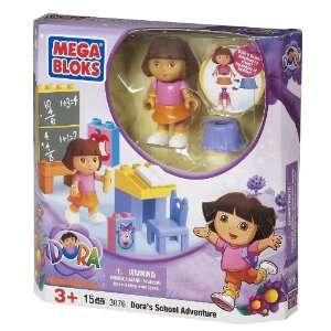 Megabloks Doras School Adventure Toys & Games