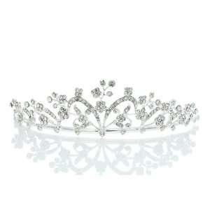 Bridal Princess Rhinestone Crystal Flower Prom Wedding