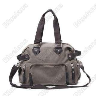 Vintage Postmen Canvas Faux Leather Satchel Shoulder Bag Computer Bag