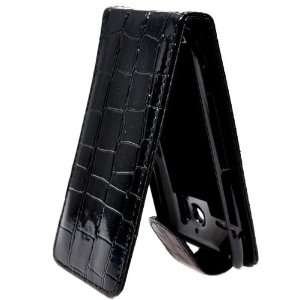 Check Pattern Flip Leather Case Pouch Cover with Magnet Snap for HTC