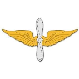 U.S. Army Aviation Branch Insignia car sticker 6 x 2