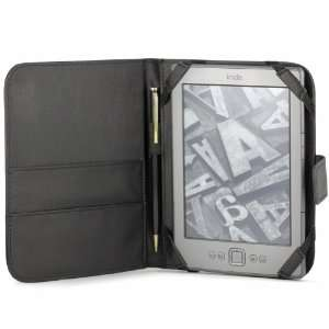 Ink Display MiniSuit Book Style Leather Case with Stylus Holder