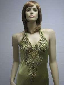 Sue Wong Green Pistachio Wedding Dress Dress 6 NEW