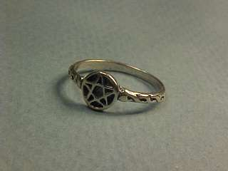 Sterling Silver Star Of David Baby Or Pinky Ring