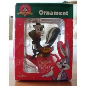 Looney Tunes Pepe Le Pew Christmas Ornament Chirstmas is