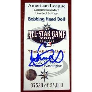 Ichiro Suzuki Autographed 2001 AL All Star Bobble Head