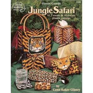 Jungle Safari   Plastic Canvas Books