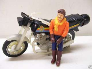 FALL GUY LEE MAJORS POWER BLASTER MOTORCYCLE W/ FIGURE