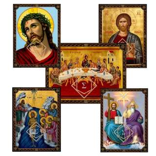 Baptism Favor ~ Christening Gift Icon Lot