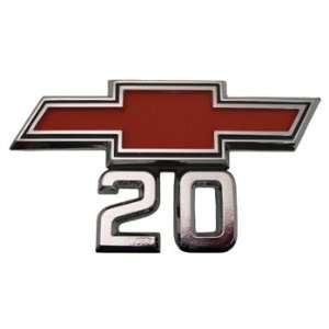 67 68 GMC/Chevy Truck Fender EMBLEM, BOWTIE 20, Automotive