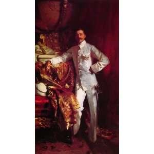 John Singer Sargent   24 x 44 inches   Sir Frank Swettenham: Home