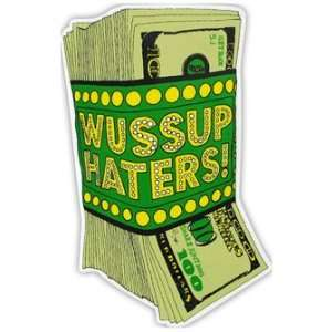 Shake Junt Money Talks Sticker: Sports & Outdoors