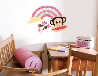 Paul Frank Julius Monkey Rainbow Sky Wall Sticker Decal Wallpaper