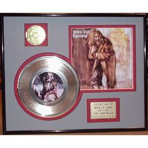 JETHRO TULL Gold Record Limited Edition Collectible