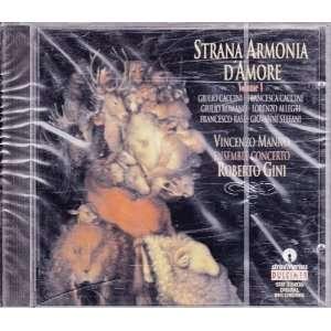 Strana Armonia DAmore Ensemble Concerto, Gini Music