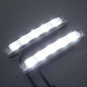 Ultra Bright Car 5 LED Daytime Running Light DRL Kit