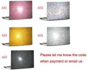 Bling Crystal Laptop Cover Skin Stickers apple ipad