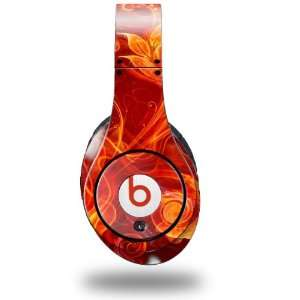 Fire Flower Decal Style Skin (fits genuine Beats Studio