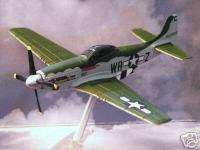 Corgi Henry Brown WWII Hun Hunter P 51 D Mustang P51
