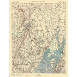 com USGS TOPO MAP PATERSON QUAD NEW JERSEY (NJ) 1887 Home & Kitchen