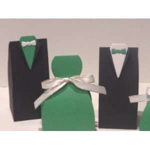50 St. Patrick Theme Wedding Favor Boxes Everything Else