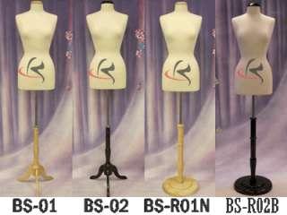 Mannequin Manequin Manikin Dress Form #F10/12W+BS 01