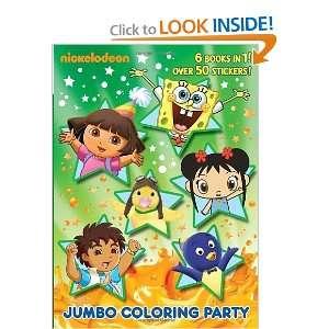 Jumbo Coloring Party (Nick Jr.) (Jumbo Coloring Book