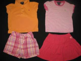 42 pcs BABY TODDLER GIRL 3T SPRING SUMMER CLOTHES LOT DRESSES OUTFITS