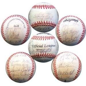 1984 St. Louis Cardinals Autographed Team Baseball Sports