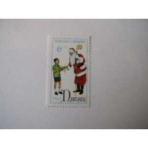Postage Stamp, 1968, Natal, Papai Noel, 6 Centavos. Everything Else