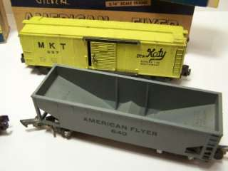 Vintage GILBERT American Flyer Rolling Stock Train Car Lot (4) 937 640