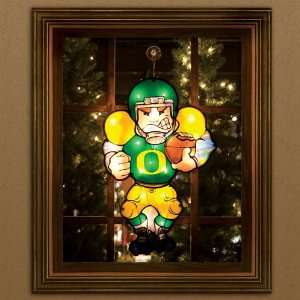 BSS   Oregon Ducks NCAA Two Sided Light Up Player Decoration (20)