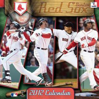 Boston Red Sox 2012 Calendar 12x12 Team Wall Calendar