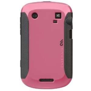BlackBerry Bold 9900 / 9930 Pop Case Pink / Cool Gray