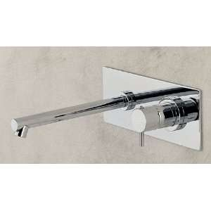 Lacava 0114SX CR Wall Mounted Single Lever Faucet with