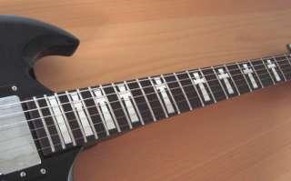 TONY IOMMI Gibson SG CROSS Guitar Vinyl Decal Inlays