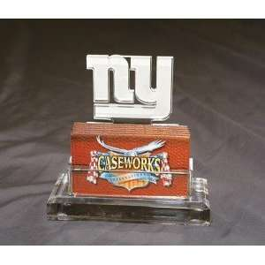 New York Giants Business Card Holder in Gift Box Sports