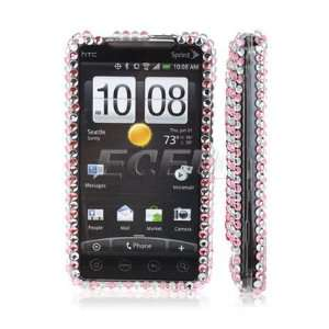 Ecell   BLACK BUTTERFLY CRYSTAL BLING CASE COVER FOR HTC