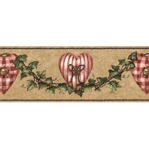 Ivy Heart Wallpaper Border: Home Improvement