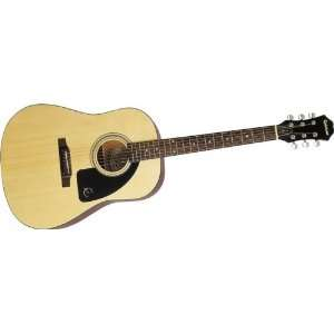 Gibson Epiphone AJ 1 Acoustic Guitar, Natural Musical