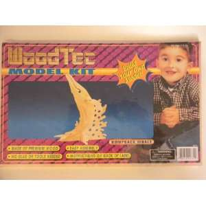 Wood Tec Model Kit Humpback Whale Toys & Games