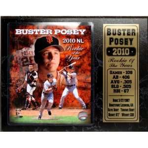 Franscisco Giants Buster Posey No. 28 12X15 Plaque