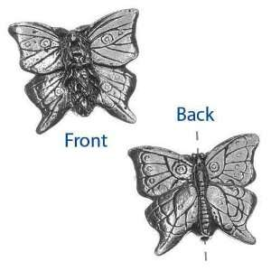 Green Girl Studios Pewter Butterfly Forest Faerie Focal