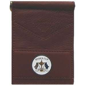 2008 Ryder Cup Leather Folding Wallet