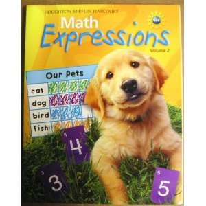 Expressions (Math Expressions 2009   2012) (9780547473697) Hm Books